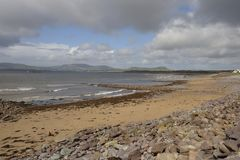Waterville's beach (Ireland) Royalty Free Stock Photography