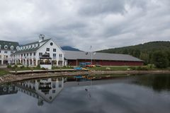 Waterville Valley Resort Stock Photography
