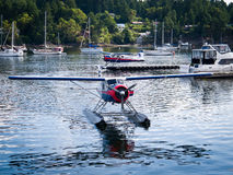 Watervliegtuig stock foto