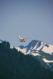 Watervliegtuig, Alaska stock foto's