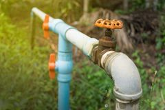 Watervoorzieningssysteem Royalty-vrije Stock Foto's