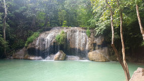 Waterway at Arawan Waterfall, Stock Photography
