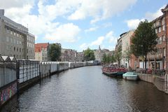 Waterway, Canal, Body Of Water, Water Transportation royalty free stock photos