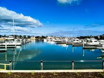 Martha Cove marina safety beach Royalty Free Stock Image