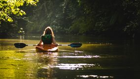 Waterway, Nature, River, Kayak Royalty Free Stock Image