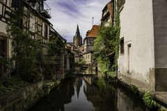 Waterway, Reflection, Water, Canal royalty free stock photo