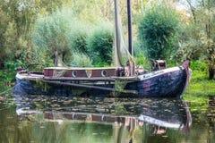 Waterway, Reflection, Water Transportation, Water Royalty Free Stock Image
