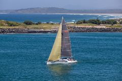 Waterway, Sail, Sailboat, Water Transportation stock photography