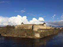 Waterway, Sky, Fortification, Cloud