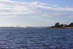 Waterway, Sky, Horizon, Sea royalty free stock photography