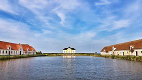 Waterway, Sky, Residential Area, Reflection stock images