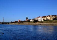 Waterway, Sky, Water, River