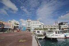 Waterway, Sky, Water, Transportation, Marina, Harbor, Port, City, Real, Estate, Cloud, Dock, Sea, Channel, Motor, Ship, Condominiu Royalty Free Stock Photo