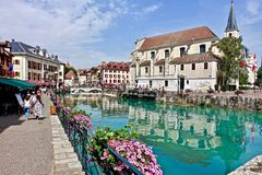 Waterway, Town, City, Canal Royalty Free Stock Images
