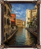 Waterway, Water, Canal, Gondola Stock Photo