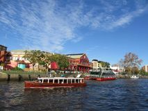 Waterway, Water Transportation, Boat, River Royalty Free Stock Images