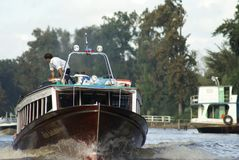Waterway, Water Transportation, Vehicle, Boat Royalty Free Stock Photography