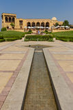 Waterways and walkways at Al-Azhar Park , cairo in egypt Royalty Free Stock Photography