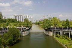 waterweg Royalty-vrije Stock Fotografie