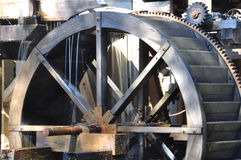 waterwheel стана старый Стоковые Фотографии RF
