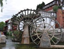 waterwheel Fotografering för Bildbyråer
