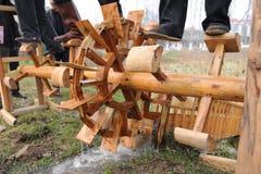 Waterwheel Fotografía de archivo libre de regalías