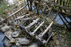 Waterwheel Fotografia Royalty Free