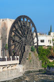 Waterwheel in the city of Hama Royalty Free Stock Images
