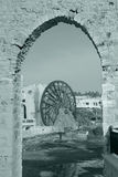 Waterwheel in the city of Hama Stock Photos