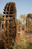 Waterwheel em um Nunnery chinês Fotografia de Stock