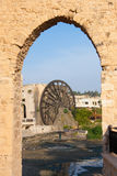 Waterwheel in Hama Stock Photo