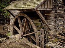 Waterwheel rústico Fotografia de Stock
