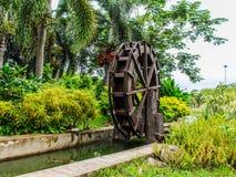 Waterwheel in Wood Stock Image