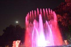 Waterworks покрашенный красным цветом Стоковая Фотография
