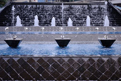 Waterworks decorations Royalty Free Stock Image