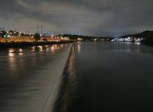 waterworks philadelphia ночи Стоковые Фото