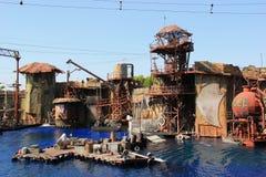 Waterworld στα UNIVERSAL STUDIO Hollywood στοκ εικόνα με δικαίωμα ελεύθερης χρήσης