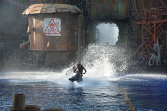 Waterworld Royaltyfri Foto