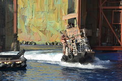Waterworld Royaltyfri Bild