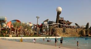 Waterworld Abu Dhabi arkivbild