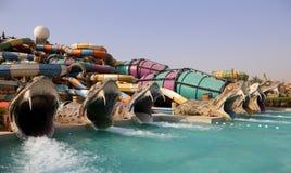 Waterworld Abu Dhabi Fotografia Stock Libera da Diritti