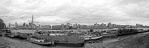 Waterworld in London/bw Lizenzfreies Stockbild
