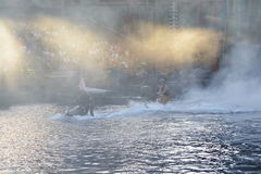 Waterworld show Royalty Free Stock Images