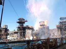 Waterworld Showdown, Universal Studios stock photos