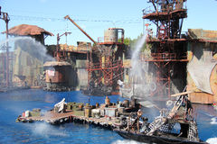 Waterworld at Universal Studios Hollywood Royalty Free Stock Photography