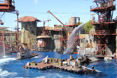 Waterworld at Universal Studios Hollywood Royalty Free Stock Photos