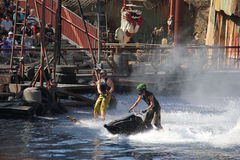Waterworld at Universal Studios Hollywood Stock Photography