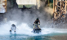 Waterworld at Universal Studios Royalty Free Stock Photography