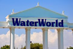 WaterWorld Waterpark Royalty Free Stock Photos