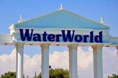 WaterWorld Waterpark. In Ayia Napa, Cyprus Royalty Free Stock Photos